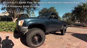 New Tires & Rims On My Toyota Pickup - YouTube