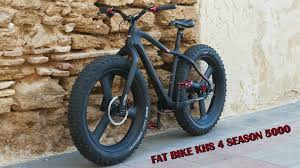 fat bike khs 4 season 5000 carbon mounting youtube