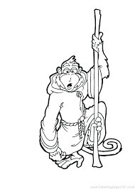 Monkey Coloring Pages To Print Cute Monkey Coloring Pages Printable