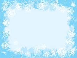 Snowflake Powerpoint Template Background Theme Free