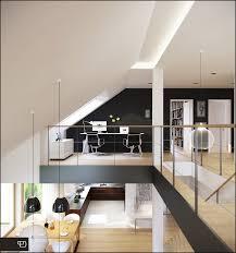 contemporary home office design. Contemporary Home Office Design Ideas: Mezzanine Ideas