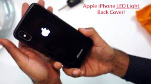 Iphone Light Cover Review Apple Logo Led Light Illuminated Back Case For Iphone