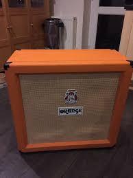 4x10 Guitar Cabinet Orange 4x10 Guitar Amp Cab Rare In Newton Abbot Devon Gumtree
