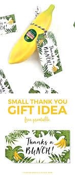 Small Thank You Gift Idea: Tony Moly Banana Hand Milk + Free Printable