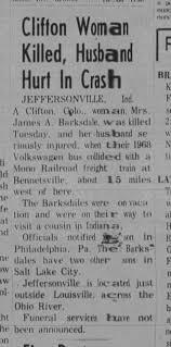John Barksdale is son of Bertha Alma Dawson Barksdale - Newspapers.com