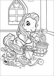 Make a coloring book with spiderman easter for one click. My Little Pony Easter Coloring Page