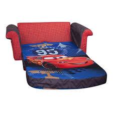 marshmallow children s furniture 2 in 1 flip open sofa disney cars 2 new