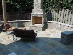 Stone Fireplace & Flagstone Patio, Arlington copy | Grigg Design