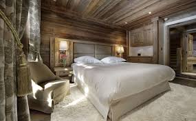 wood rustic master bedroom with white interior decoration lighting ideas plus cream furry rug flower and