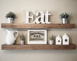 floating shelves wall shelves farmhouse decor rustic