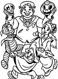 Small Picture Best Halloween Monsters Coloring Pages Ideas Printable Coloring