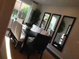 Great Idea Using Three Separate Mirrors I Want A Feature Wall - Mirrors for dining room walls
