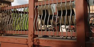 railing installation instructions fortress railing products railing balusters