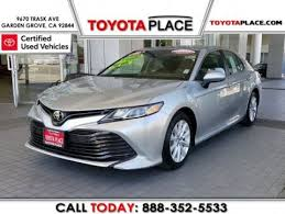 certified used 2018 toyota camry le
