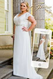 12 best curvy wedding dresses images on pinterest curvy wedding Wedding Dress Designers Kerry back and front of a fab plus size wedding dress exclusively from finesse bridal wear in listowel, co kerry, ireland french wedding dress designer kerry