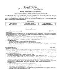 Pharma Cover Letter Resume Pharmaceutical Industry Medical