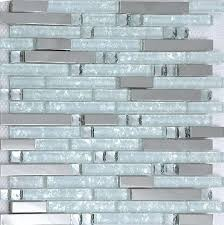 white mosaic backsplash silver metallic mosaic tile glass mosaic tile kitchen crystal white glass mosaic stainless