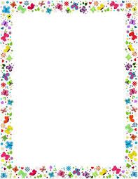 Flower Border Designs For Paper Free Simple Flower Border Designs For A4 Paper Download Free Clip