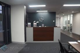 office reception. Unique Reception Thatu0027s The Slogan For Iconic Car Company MercedesBenz So We Knew  Theyu0027d Expect Nothing Less Than Best Their Reception Fitout Throughout Office Reception
