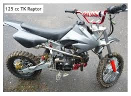 pit bike 125 cc engines give funky off road adventure