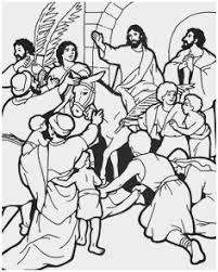 Palm Sunday Coloring Page Best Of Jesus Palm Sunday Coloring Page