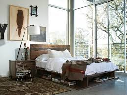 Modern Rustic Bedroom Beautiful 30 Ingenious Wooden Headboard Ideas For A  Trendy Bedroom