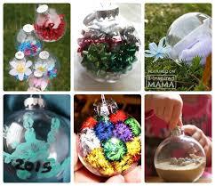 Decorating Christmas Ornaments Balls 100 Homemade Christmas Ornaments Using Clear Ball Ornaments 16