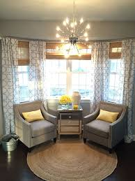 Window Treatments Ideas For Living Room Mesmerizing This Is One Of My Favorite Spots In My Home My Bay Window With Two