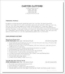 Example Of Profile On Resume Best How To Write A Resume Profile Resume Profile Examples Personal