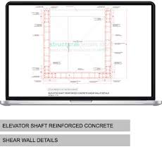 Small Picture Elevator Shaft Reinforced Concrete Shear Wall Details