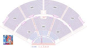 Freedom Hill Seating Chart With Seat Numbers 11 Ageless Dte Energy Theater Seating