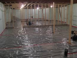 Strikingly Beautiful Basement Floor Moisture Barrier Flooring Tiles With A  Built In Vapor Barrier