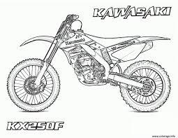 Coloriage Moto Dessin Imprimer Gratuit Dedans Moto Cross A