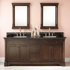 Double Vanity Cabinets Bathroom 72 Claudia Double Vanity For Rectangular Undermount Sinks