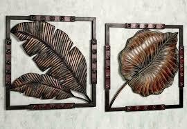 splendid metal wall art decor sculptures ideas modern metal wall sculpture leaf jpg