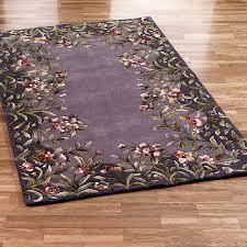contemporary plum area rug designs