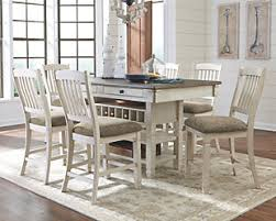 Pics of dining room furniture Roomstogo Large Bolanburg 5piece Counter Height Dining Set Rollover Ashley Furniture Homestore Dining Room Sets Movein Ready Sets Ashley Furniture Homestore