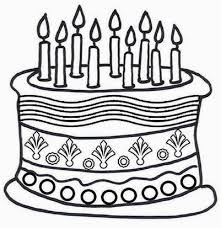 Small Picture 92 ideas Coloring Page Birthday Cake No Candles on kankanwzcom