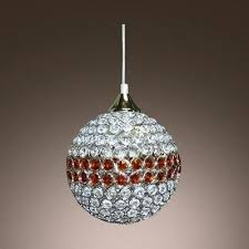 disco ball ceiling light fixture classic disco ball mini pendant light embedded by amber and clear crystals