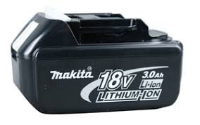 makita battery. makita bl1830 18v 3.0 ah li-ion battery -