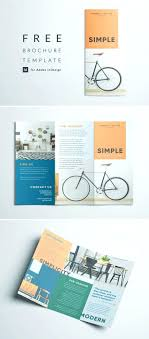Foldable Brochure Template Free Brochure Templates Free Download Goodwincolor Co