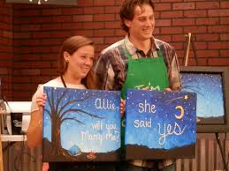 painting with a twist lansing mi allie said yes we wish cole