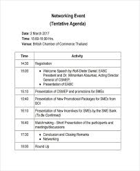 Sample Of Agenda Free 22 Event Agenda Examples Samples In Pdf Doc Examples