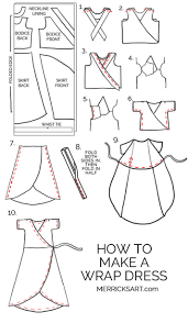 Wrap Around Dress Pattern Unique Decorating Design
