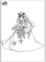 Prinses Rapunzel Kleurplaat Prinzessin 8 Malvorlagen Mrchen