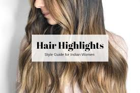 Streak Color Chart Hair Color Highlights Ideas For Indian Hair With Pics For
