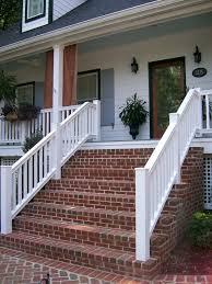 Brick Front Stoop Designs Brick Front Porch Steps Porch Steps Brick Porch Brick Steps