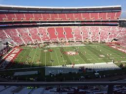 Bryant Denny Stadium Section Gg Row 1 Seat 18 Alabama