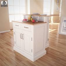 woodbridge two tier kitchen island 3d model