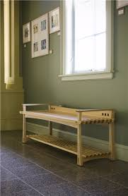 Asian inspired entry or hallway bench.